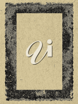 Royalty Free Clipart Image of a Decorative Frame