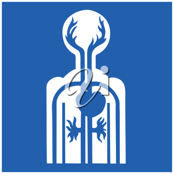 Royalty Free Clipart Image of Medical Icon