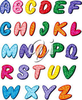Royalty Free Photo of Alphabet Letters