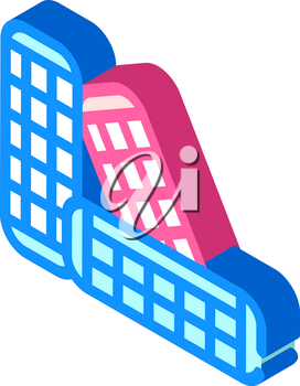 curlers groomer service isometric icon vector. curlers groomer service sign. isolated symbol illustration