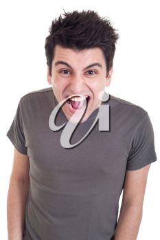 Royalty Free Photo of an Angry Man