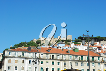 Royalty Free Photo of a Landscape of Lisbon, Portugal