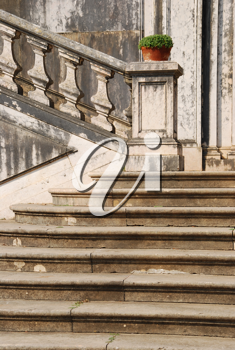 Royalty Free Photo of a Beautiful Staircase