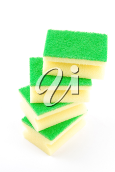 Royalty Free Photo of Kitchen Sponges