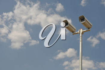 Royalty Free Photo of a Security Camera