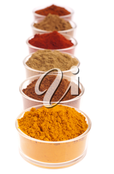 Royalty Free Photo of a Collection of Spices