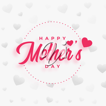 mothers day poster design wishes background