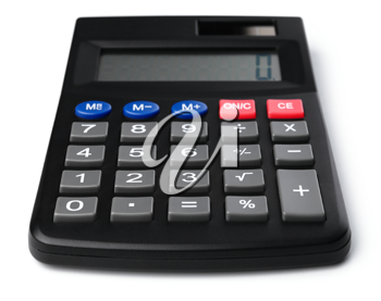 Royalty Free Photo of a Black Calculator