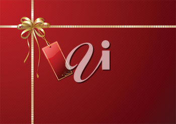 Royalty Free Clipart Image of Gift Wrapping