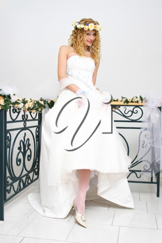 Royalty Free Photo of a Beautiful Bride