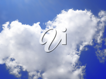 Royalty Free Photo of a Cloudy Sky