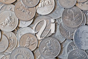 Royalty Free Photo of Silver Coins