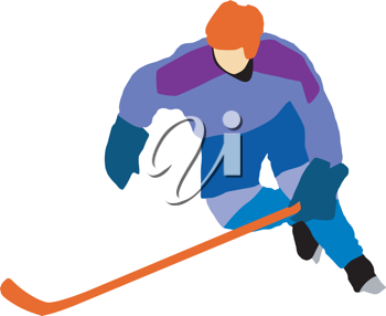 Kind of sport series of illustration. Ice hockey