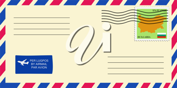 letter to/from Bulgaria