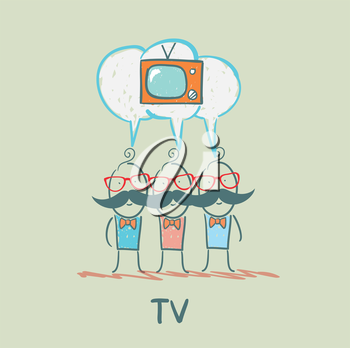people think about the TV