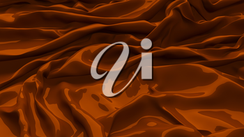 3D Illustration Chocolate Abstract Texture Wavy Material
