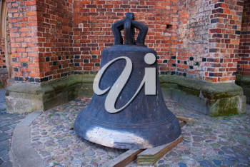 Royalty Free Photo of an Old Church Bell in Germany