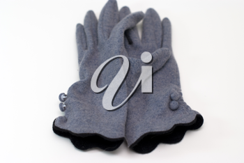 Royalty Free Photo of a Pair of Gloves