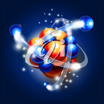 Molecule, atoms and particles in motion