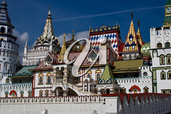 Royalty Free Photo of Kremlin in Izmailovo Moscow Russia