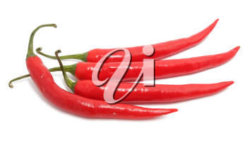Royalty Free Photo of Red Hot Chilli Peppers
