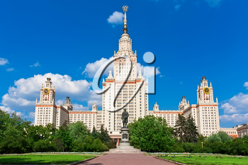 Main Building of Lomonosov Moscow State University,  Russia