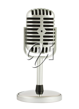 Royalty Free Photo of a Retro Microphone