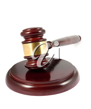 Royalty Free Photo of a Wooden Gavel