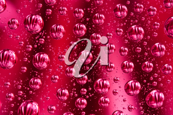 Royalty Free Photo of a Background of a Bubbly Drink