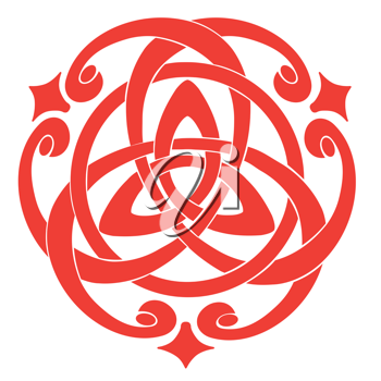 Royalty Free Clipart Image of a Celtic Knot