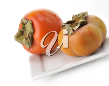 Royalty Free Photo of Persimmon Fruits