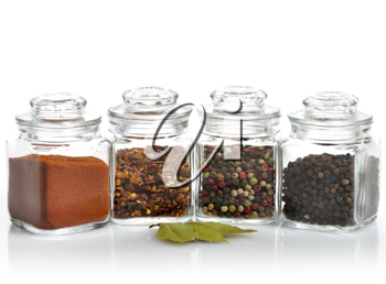 Royalty Free Photo of Jars of Spices