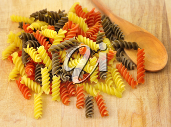 Royalty Free Photo of Colorful Pasta