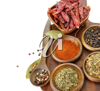 Royalty Free Photo of a Variety of Spices