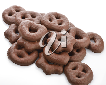 Royalty Free Photo of Chocolate Covered Gingerbread