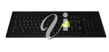 Royalty Free Clipart Image of a Computer Keyboard