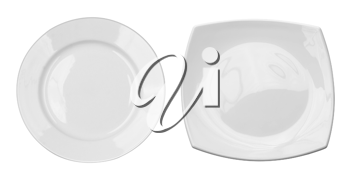 Royalty Free Photo of Two Plates