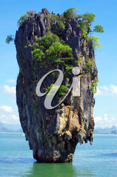 Royalty Free Photo of James Bond Island in Thailand, ko tapu