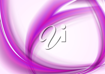 Royalty Free Clipart Image of an Abstract Wavy Background