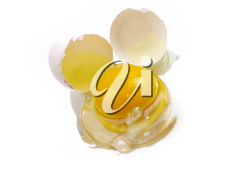Royalty Free Photo of a Broken Egg