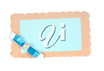 Royalty Free Photo of a Paper Tag