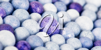 Royalty Free Photo of a Bunch of Colourful Beads