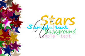 Royalty Free Photo of Star Confetti
