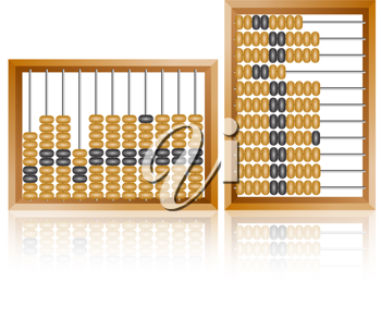 Royalty Free Clipart Image of an Abacus