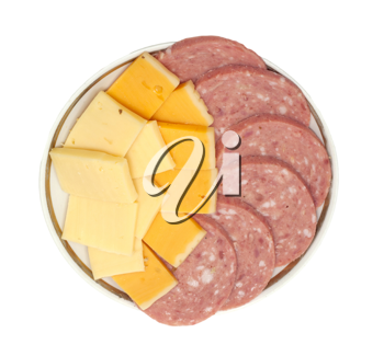 sausage with cheese