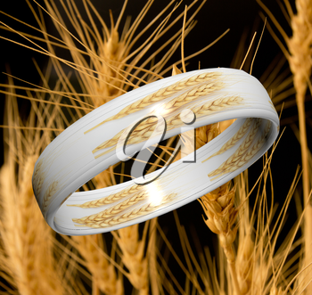 Ring of wheat