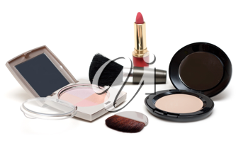 Royalty Free Photo of a Bunch of Makeup