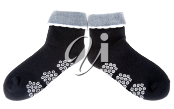 Royalty Free Photo of a Pair of Socks