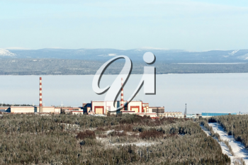 Royalty Free Photo of the Kola Nuclear Power Station