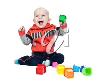 Royalty Free Photo of a Little Boy